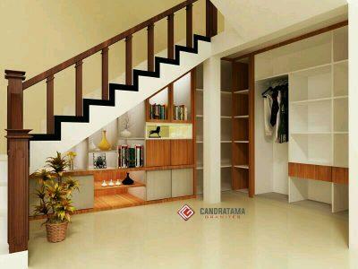 desain lemari bawah tangga
