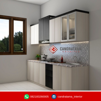 Model kitchen set minimalis terbaru