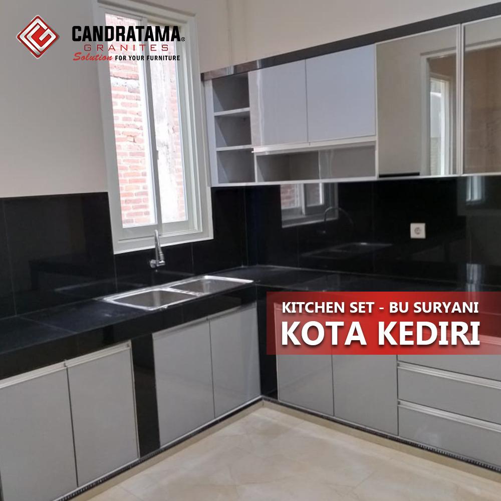 Kitchen Set Kota Kupang Dengan Nuansa Simple