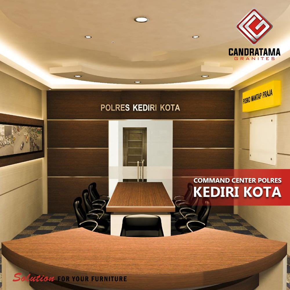 INTERIOR COMMAND CENTER POLRES KOTA KEDIRI 082183260005