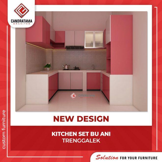 desain lemari dapur cantik