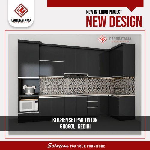 kabinet dapur custom